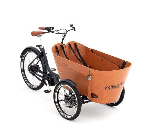 Babboe Flow Mountain Lasten e-Bike, Lastenfahrrad mit Elektromotor, e-Cargobike 2021