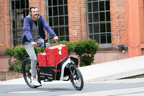 Förderung in Köln - jetzt Kaufprämie für umweltfreundliches Lastenrad mit Elektromotor sichern!