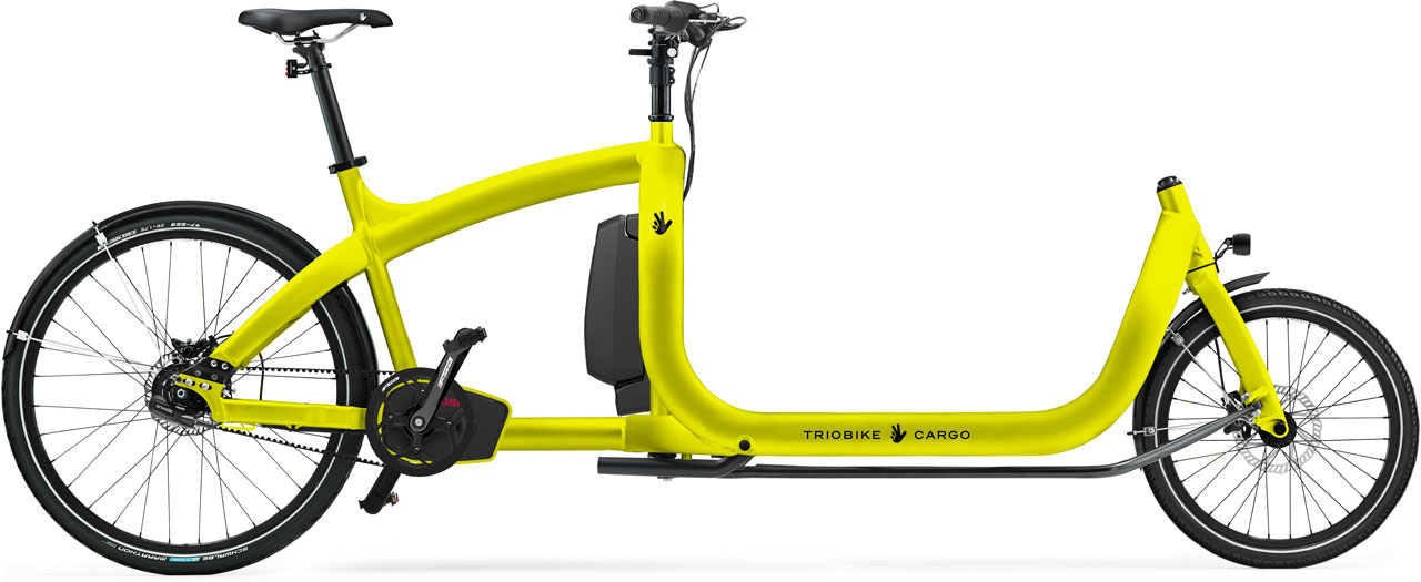 Triobike Cargo E enviolo Lasten e-Bike 2020