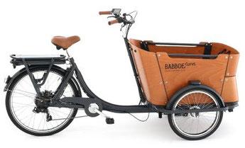 Babboe Curve-E Lasten e-Bike / Lastenfahrrad mit Elektromotor 2017