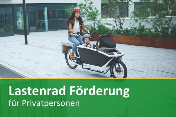 Jetzt Lastenrad Förderung in Wien beantragen und Kaufprämie sichern