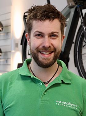 Benjamin Friedrich vom Lastenfahrrad-Zentrum Berlin Mitte