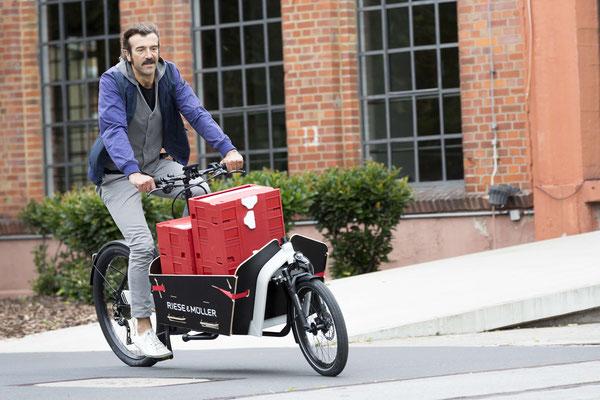 Lasten e-Bike Förderung in Hessen - jetzt beantragen