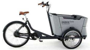 Babboe Curve Mountain Lasten e-Bike / Lastenfahrrad mit Elektromotor 2017