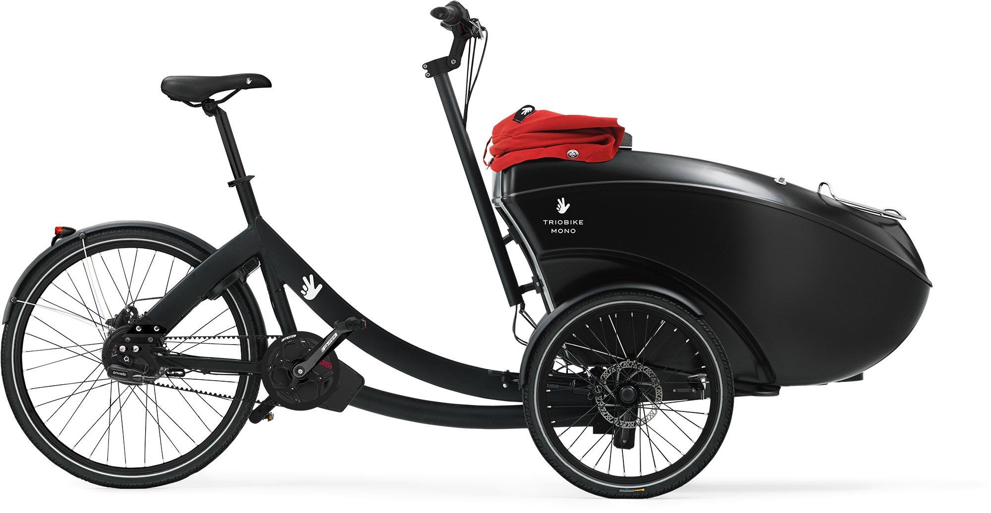 Triobike Mono E Lasten e-Bike / Cargo e-Bike 2018