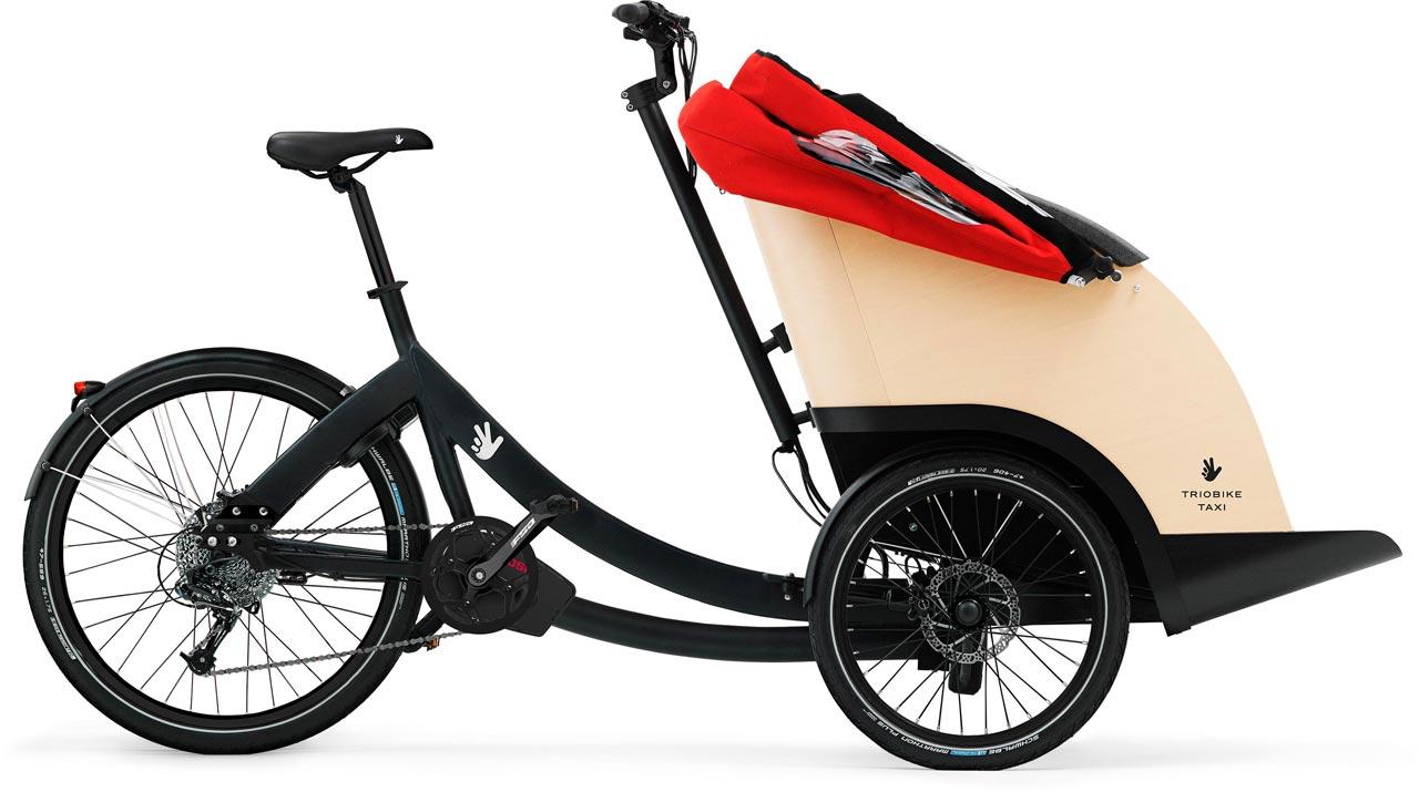 Triobike Taxi Lasten e-Bike / Cargo e-Bike 2021