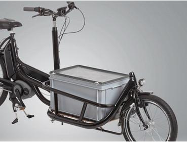 Pfau-Tec Carrier Lasten e-Bike Zubehör stapelbare Boxen