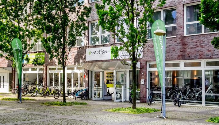 Lastenfahrräder, e-Cargobikes und Lasten e-Bikes kaufen, Probefahren und Services im Lastenfahrrad-Zentrum Berlin-Mitte