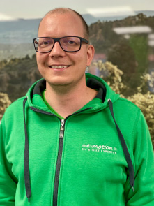 Christian aus dem Lastenfahrrad-Zentrum Tönisvorst