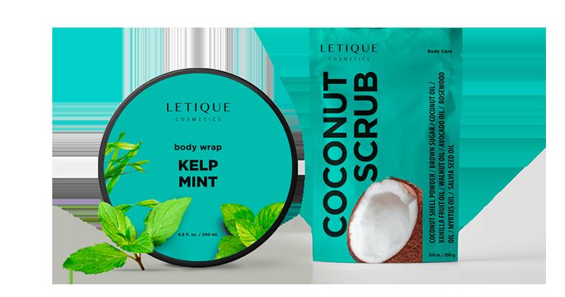 Letique Cosmetics Sets zum Sparpreis - Cold Anti-Cellulite Complex with Coconut Scrub günstig online kaufen