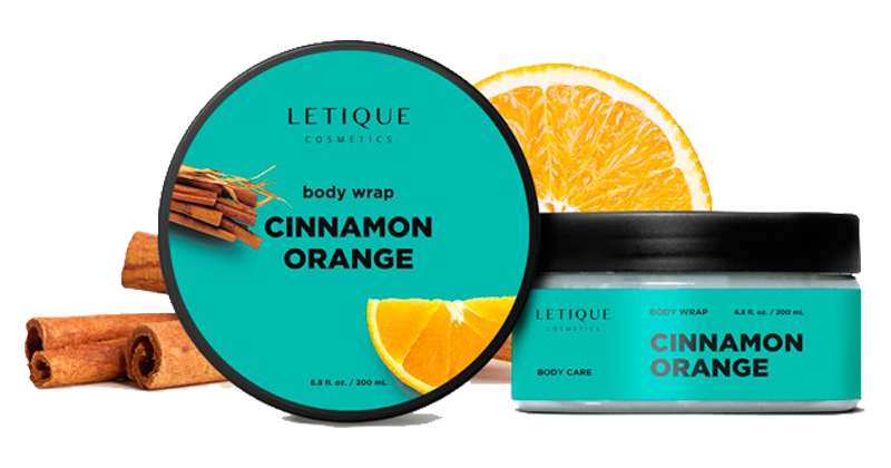 Hot Body Wrap Gel Cinnamon Orange Anti Cellulite kaufen - Produktbeschreibung Letique Cosmetics - EAN 4627149011399