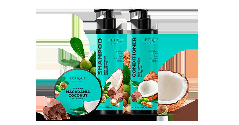 Sparen auf Letique Cosmetics Produkte - Vorteilspack Maсadamia Coconut Daily Care online günstig kaufen
