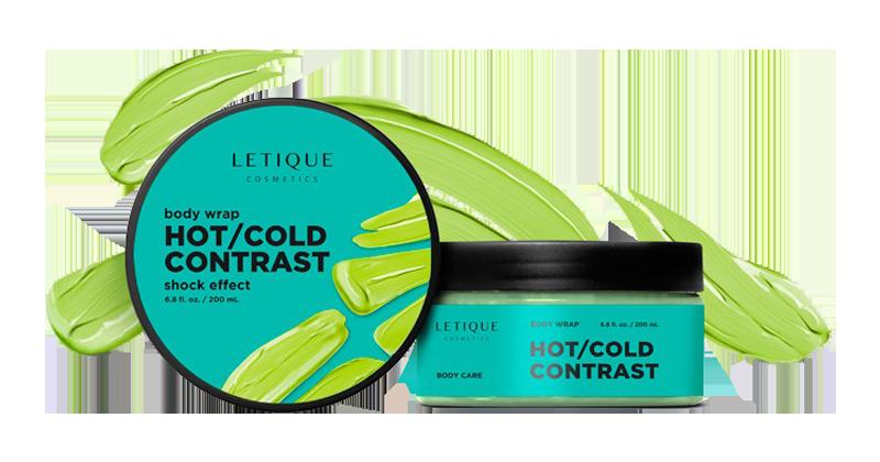 Anti Celullite Produkt Letique Cosmetics - Body Wrap Gel Hot Cold Contrast