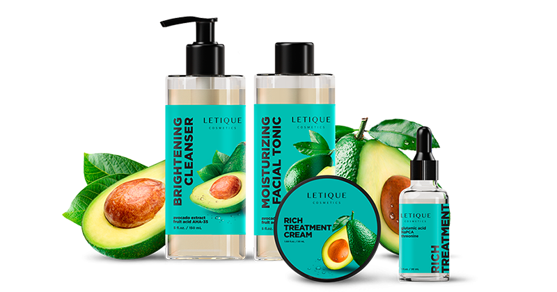 Letique Cosmetics Artikel als Sparpaket bestellen - Face Care Products with Avocado Set