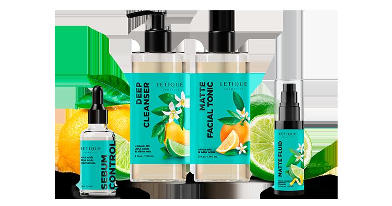 Citrus face care products line - Rabatte durch Sets und Vorteilspacks von Letique Cosmetics