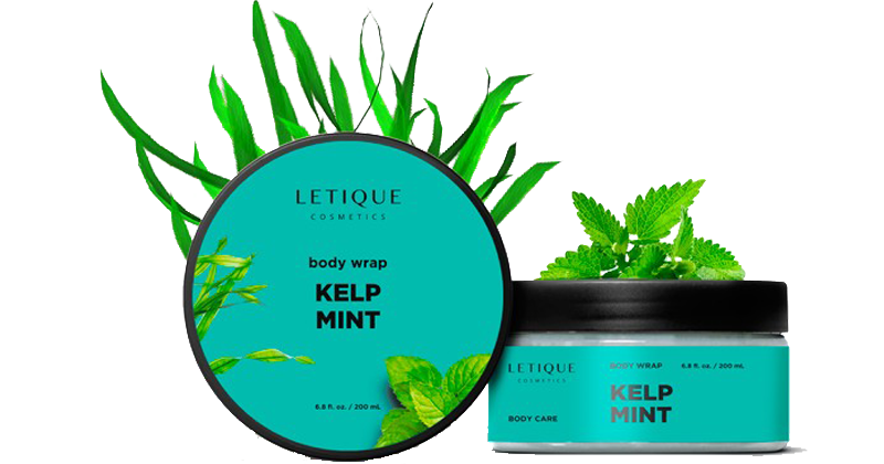 Anti Celullite Produkt Cold Body Wrap Gel Kelp mint kaufen - Letique Cosmetics