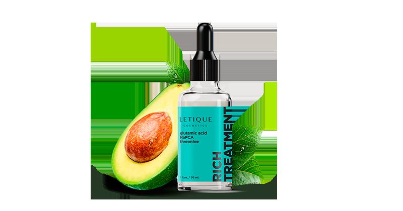 Intensive Nutrition Serum with Avocado - Letique Cosmetics Gesichtsserum Facial Serum Rich Treatment
