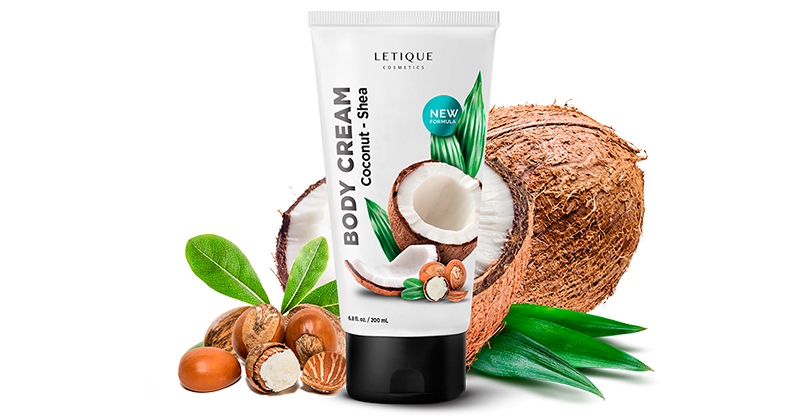 Körpercreme Body Cream Coconut Shea - Hautpflege Produktbeschreibung Letique Cosmetics