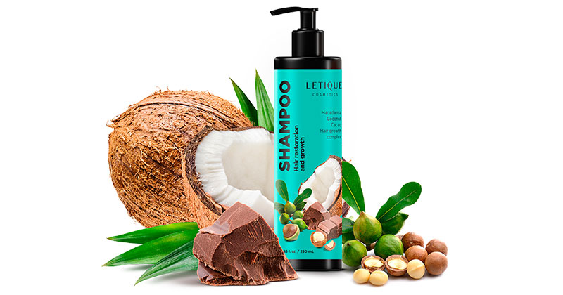 Hair Shampoo Macadamia Coconut - Haarpflege Shampoo Letique Cosmetics kaufen