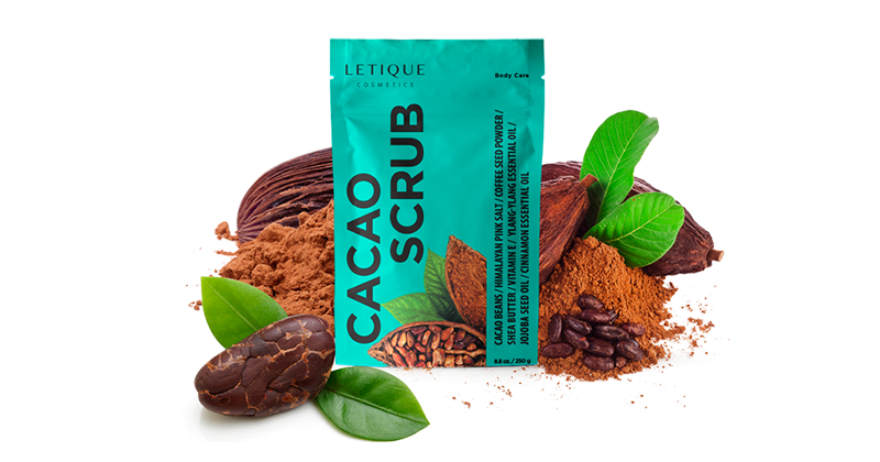 Body Scrub Cacao Produktinformationen - Letique Cosmetics Online-Shop