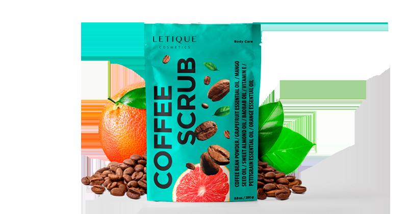 Körperpeeling Body Scrub Coffee online kaufen - Letique Cosmetics Online-Shop