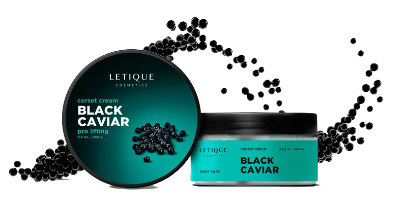 Letique Cosmetics Anti Aging Produkt Informationen - Corset Cream Black Caviar