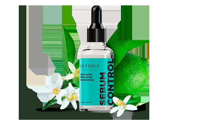Facial matte fluid - mattierendes Fluid Gesichtspflege Produkt Letique Cosmetics