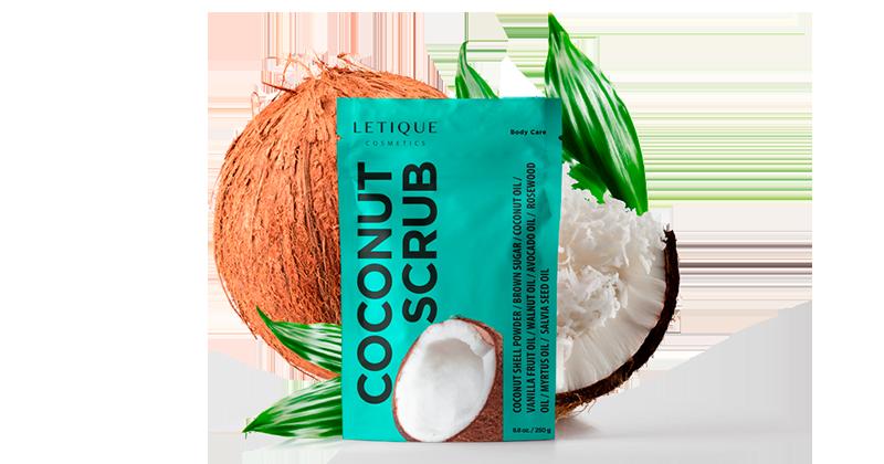 Body Scrub Coconut Artikelbeschreibung Letique Cosmetics