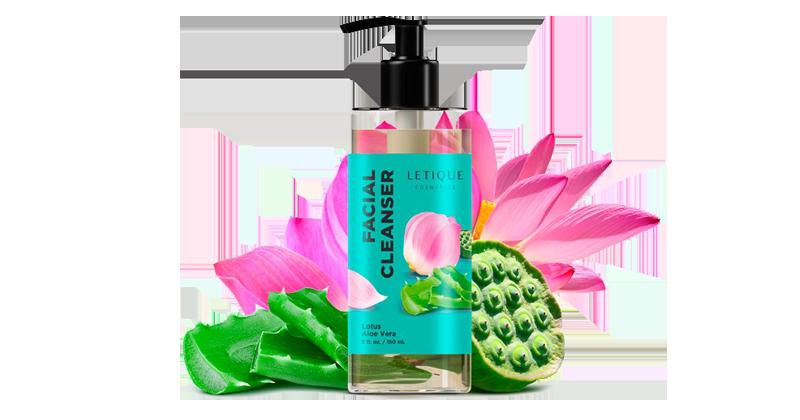 Facial Cleansing Gel lotus- Aloe Vera - Reinigungsgel Letique Cosmetics online kaufen