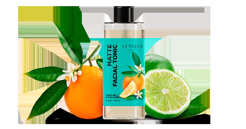 Mattifying Face Tonic Gesichtswasser Kosmetikprodukt von Letique Cosmetics
