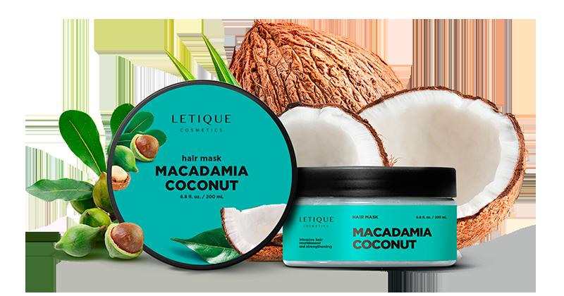 Hair Mask Macadamia Coconut - Haarpflege Produkt von Letique Cosmetics online kaufen