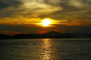 美しい夕日 GKR撮影