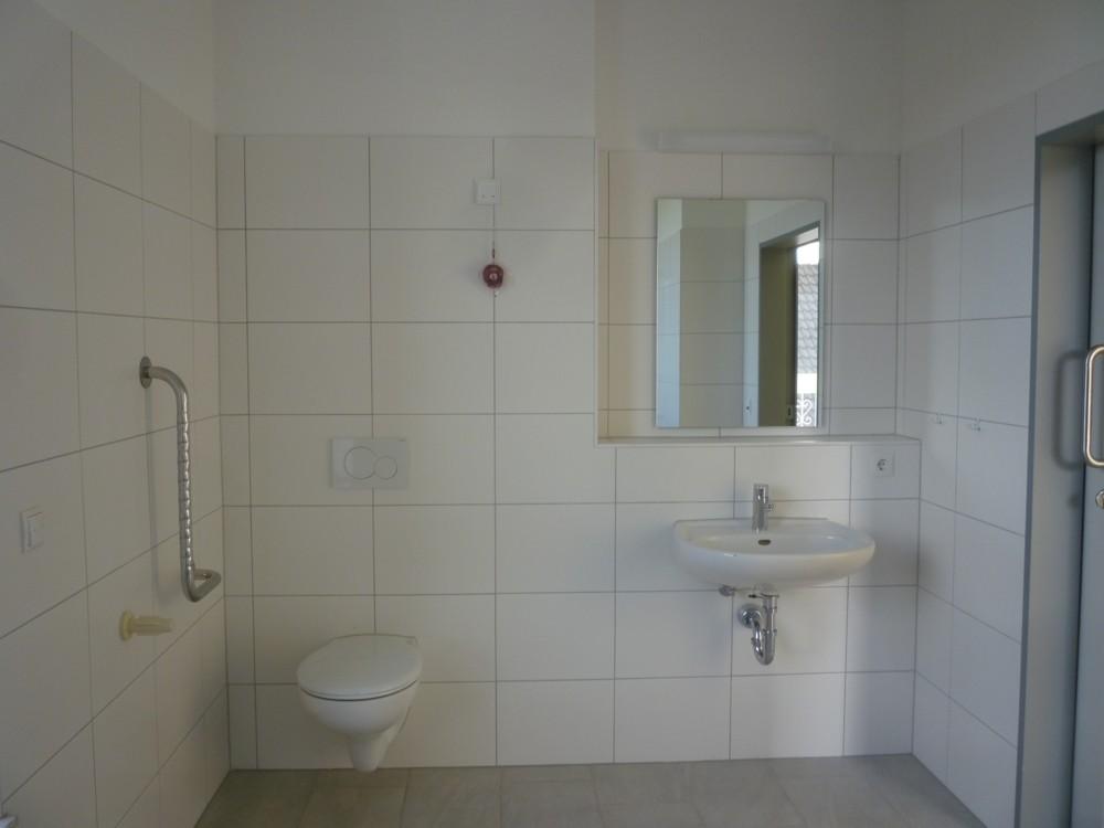 Duschbad, rollstuhlgerecht OG 1 WG