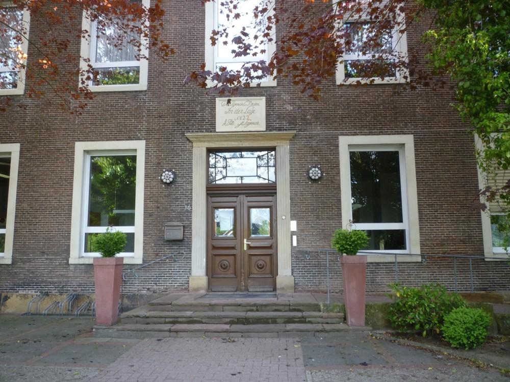 Eingangsportal des Herrenhauses