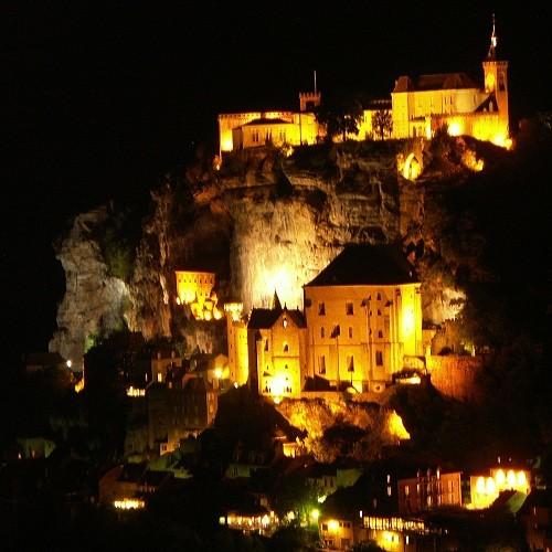 Rocamadour la nuit