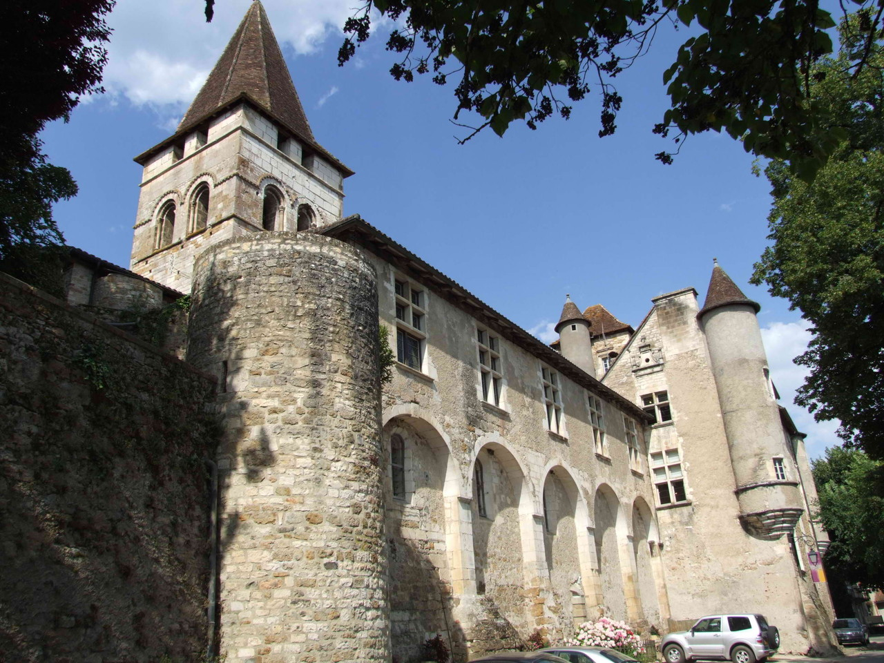 Le château de Carennac