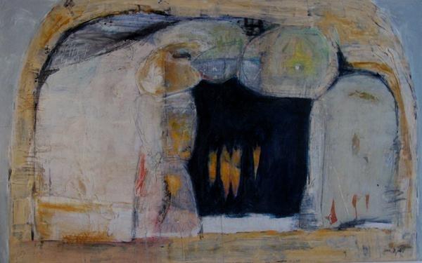 Die Höhle Acryl auf Leinwand, 120 x 160 cm