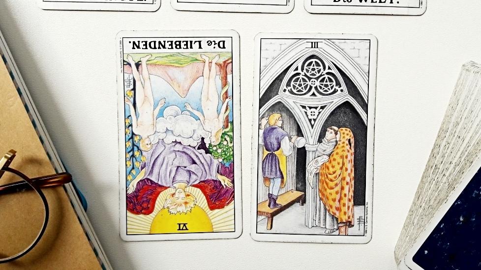 Entscheidungen treffen mit dem Tarot