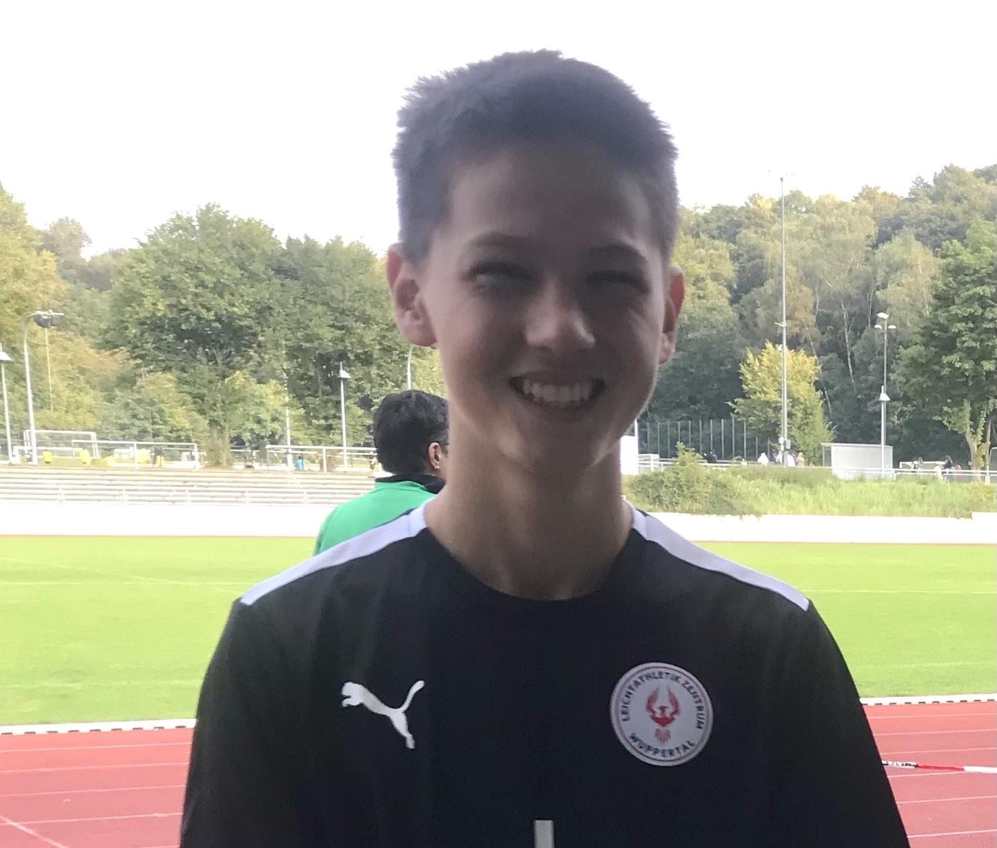 Joshua Petzoldt bestritt seinen ersten Wettkampf und wurde Regionsmeister