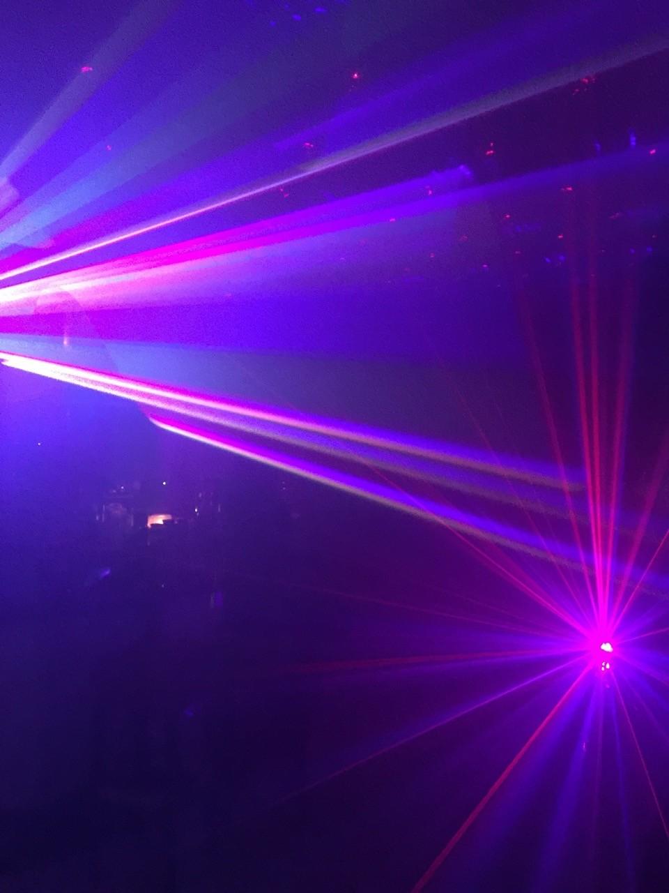 Kapstadt -  Lasershow