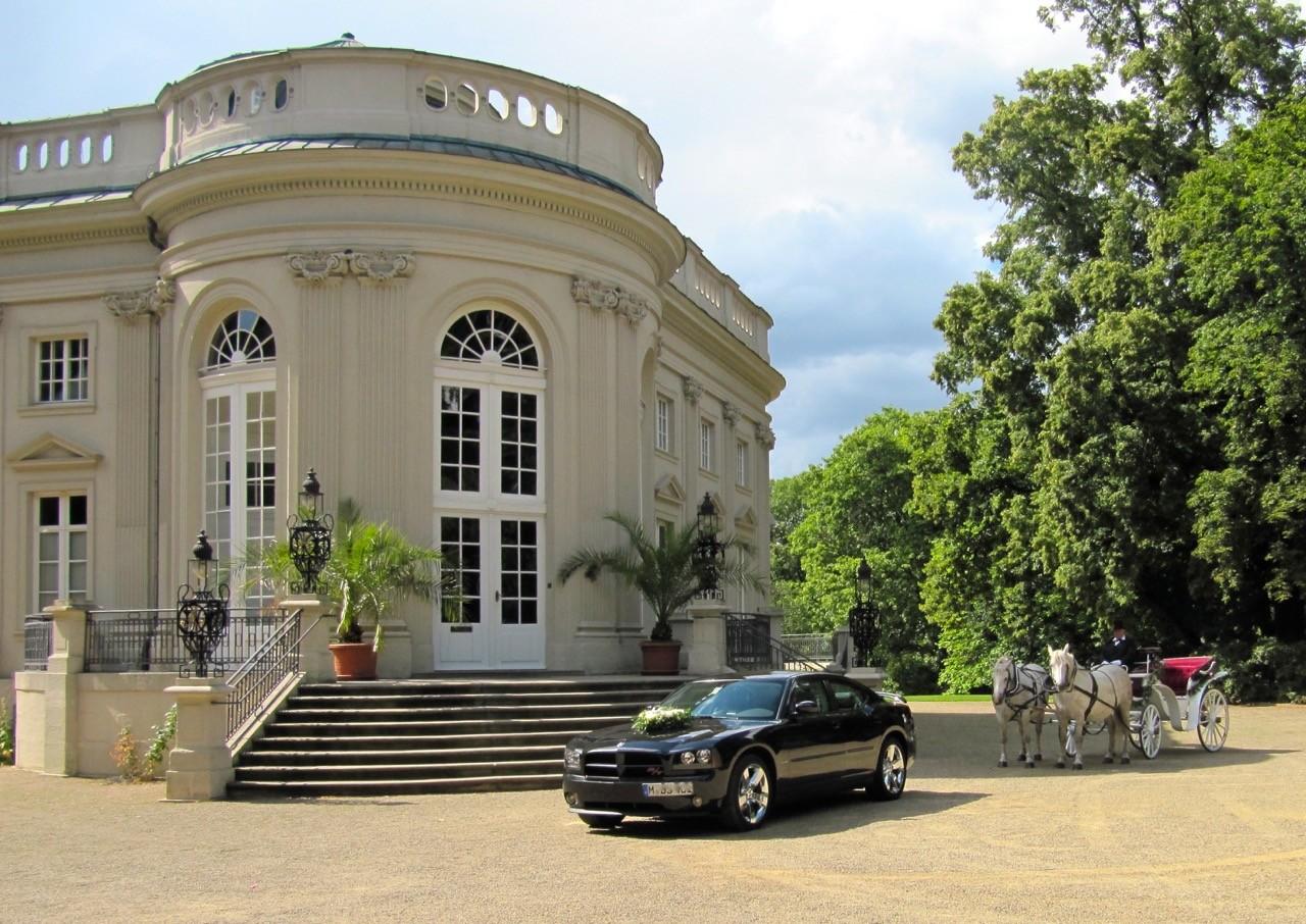 Hochzeit bei Frankfurt mit Autoverleih
