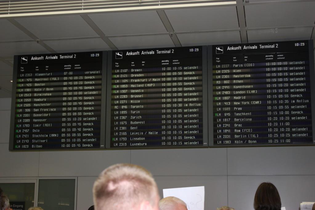 Στο αεροδρόμιο του Μονάχου