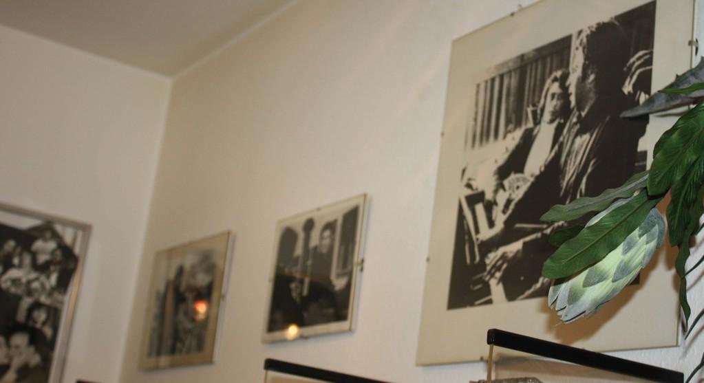 επίσκεψη στον μεγάλο μουσικό κύριο Γρηγόρη Τζιστούδη