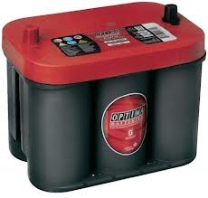 Optima Red Top RTC 4.2  12 V 50 Ah 815 A Starterbatterie