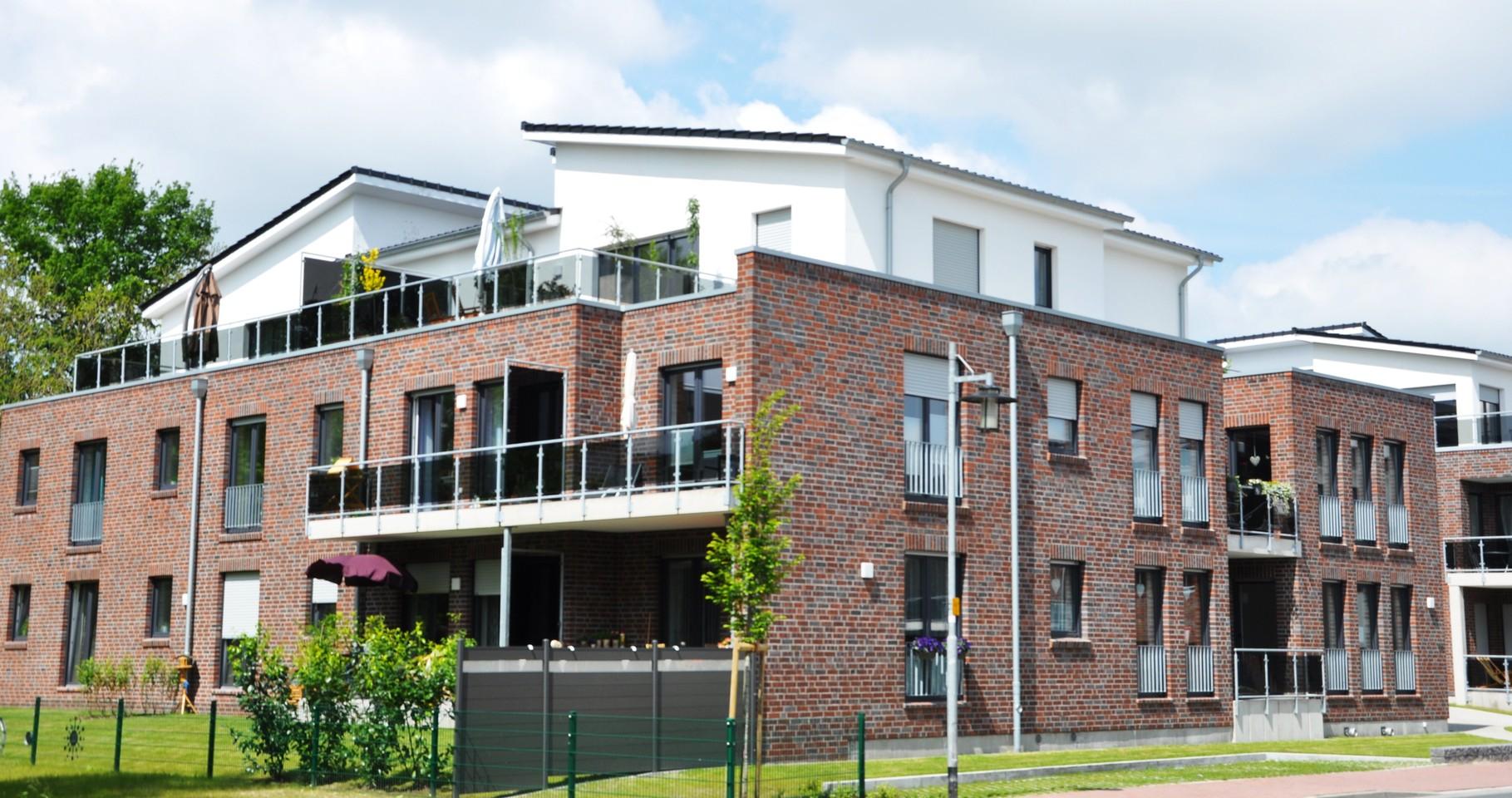 Papenburg, Dechant-Schütte-Straße, 23 barrierefreie Geschosswohnungen