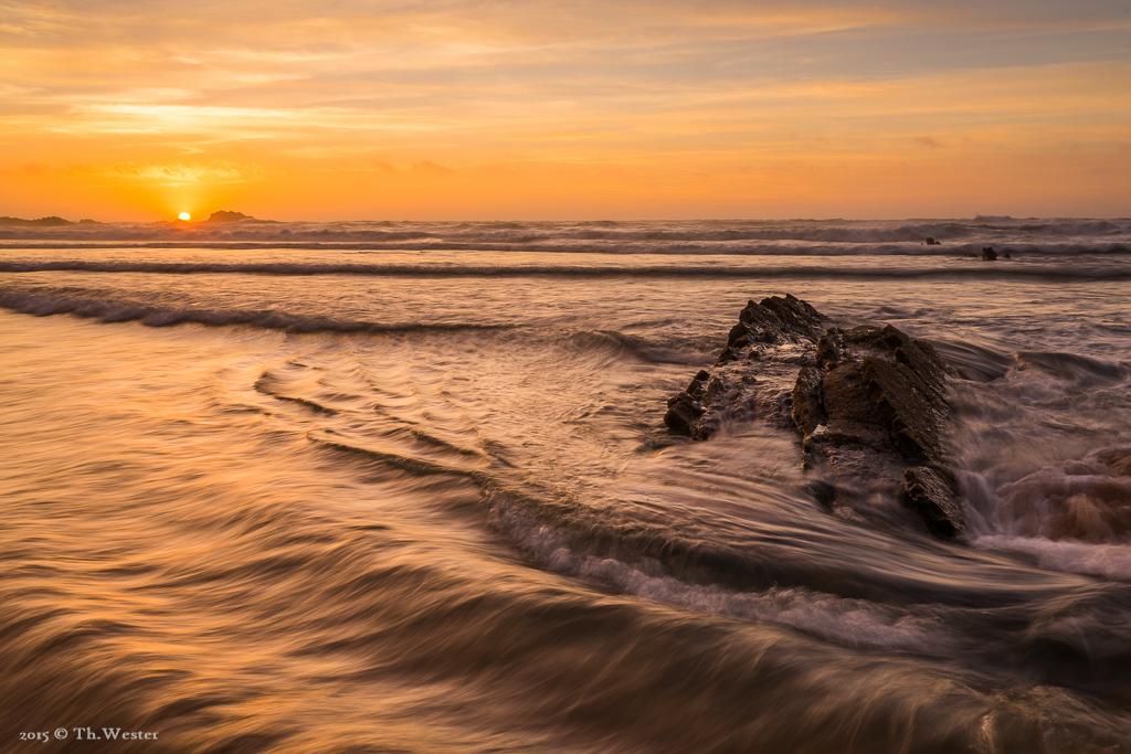 Gleich am ersten Abend konnte ich diesen schönen Sonnenuntergang einfangen (B302)
