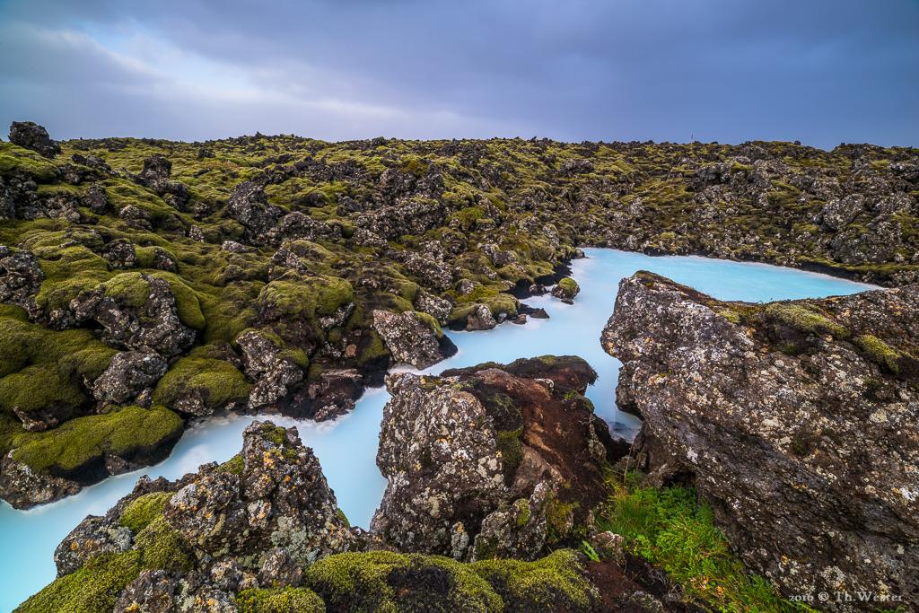 """Die Lavafelder der """"blauen Lagune"""" (B802)"""