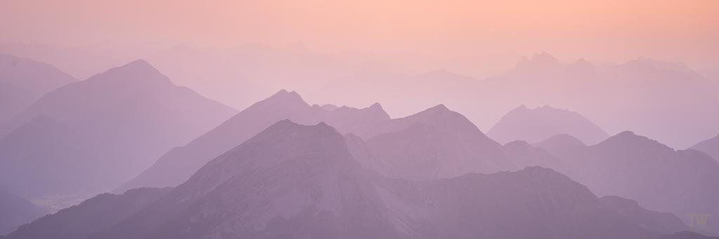 Sonnenuntergangs-Panorama (B1056)