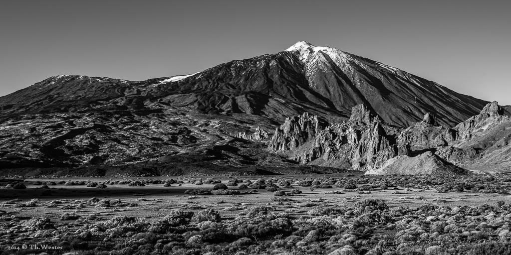 Das Hochplateau des Teide, Teneriffa (B579)