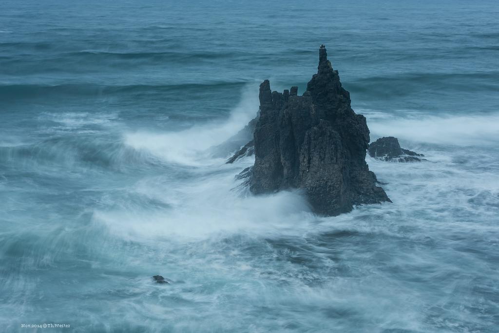 Die Kraft der Wellen war wirklich beachtlich, sie waren häufig meterhoch (B236)